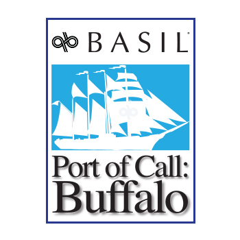 basil port of call buffalo logo icon